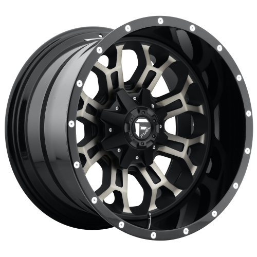 FUEL 2PC D268 CRUSH 22X12